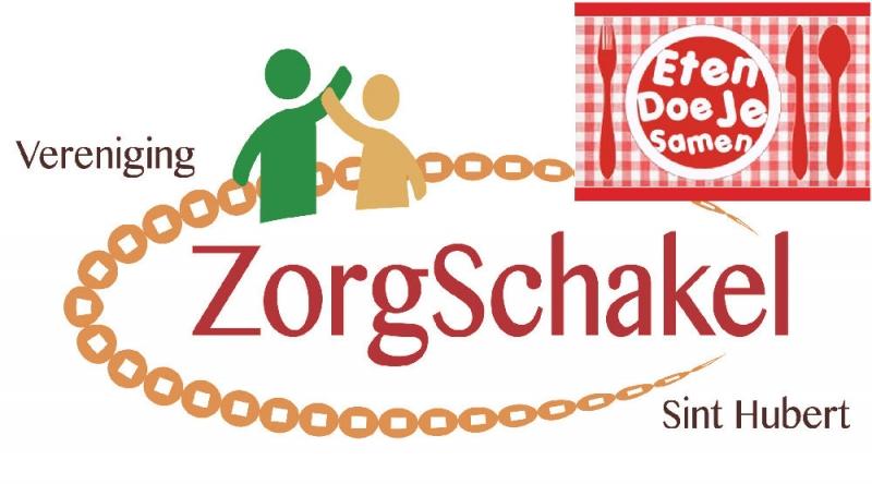 Gezamenlijk eten KBO en vereniging ZorgSchakel Sint Hubert