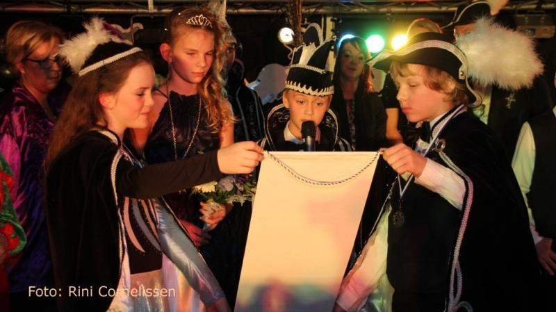 Jeugdprins Finn Hol en jeugdprinses Ellin
