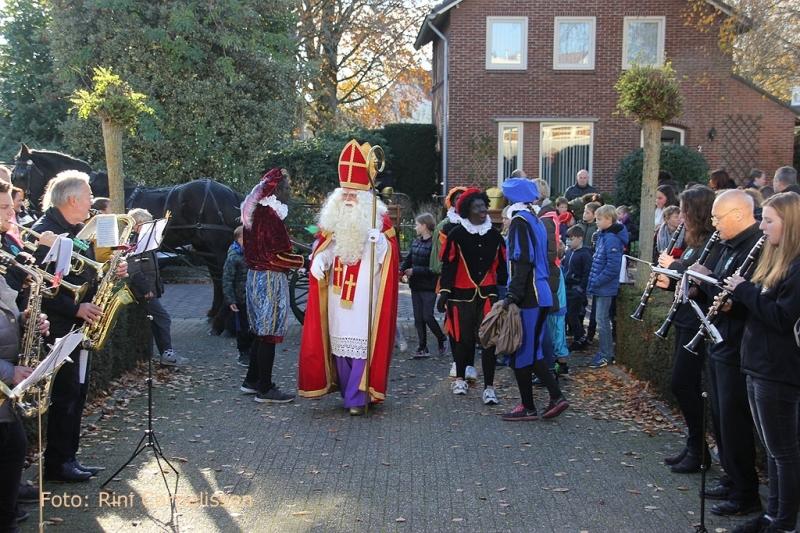 Aankomst Sinterklaas en Piet