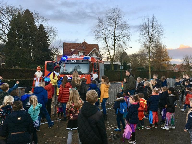 Sinterklaas op de Schare in Sint Hubert