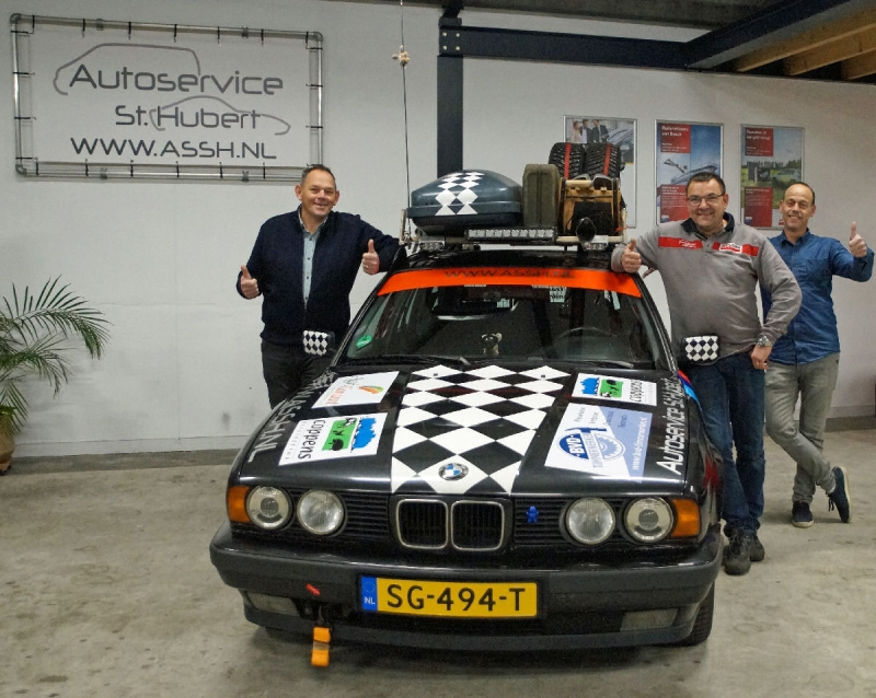 Team ASSH Sint Hubert trotseert winter met The Barrel Challenge Wintereditie