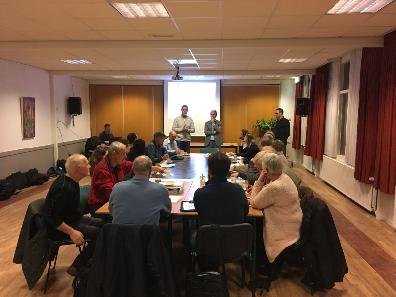 Eerste bijeenkomst werkgroep herinrichting N264