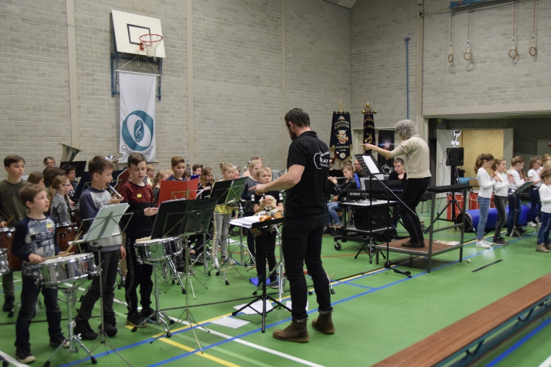 Leerlingendag gezamenlijke muziekopleiding Langenboom, Mill en Sint Hubert zeer geslaagd