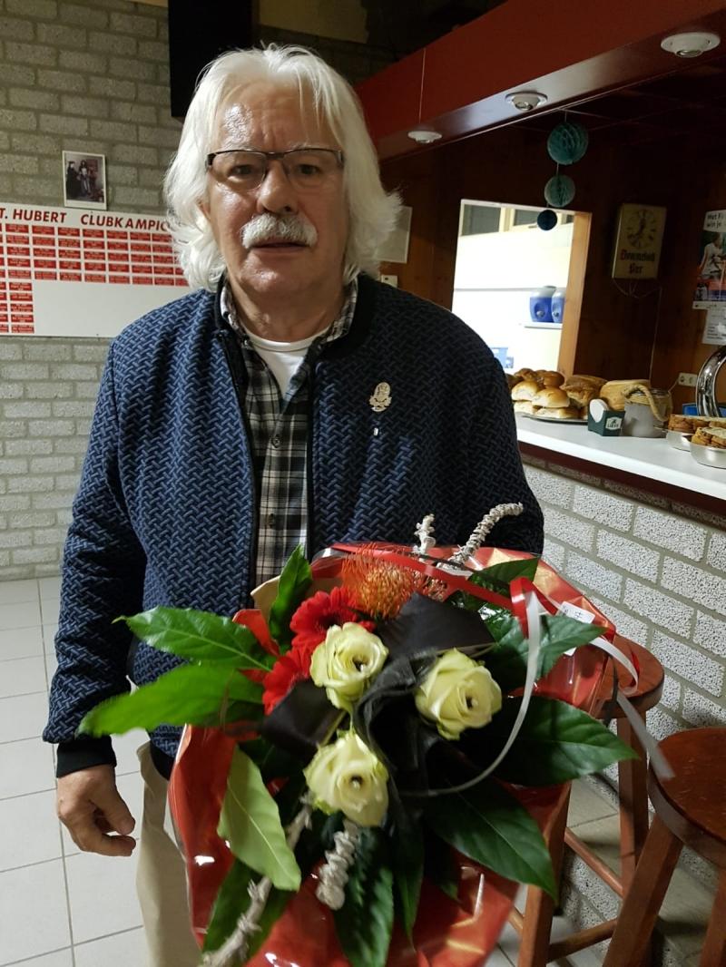 Tiny Verberk viert 50 jarig jubileum St.BarbaraGilde