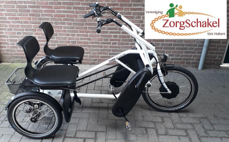 ZorgSchakel duo-fiets reserveren mogelijk