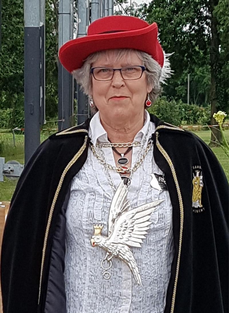Anna-Marie Verberk nieuwe Koning van het St BarbaraGilde