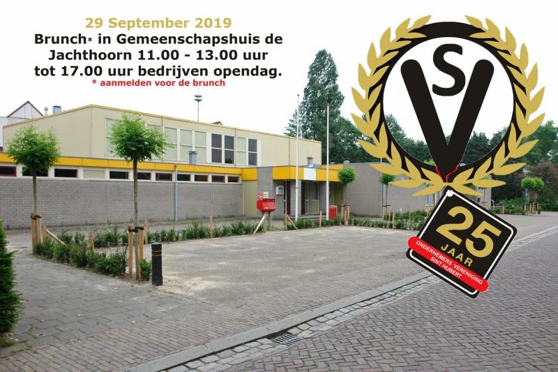 In het laatste weekend van September viert de OndernemersVereniging Sint Hubert haar 25-jarig jubileum