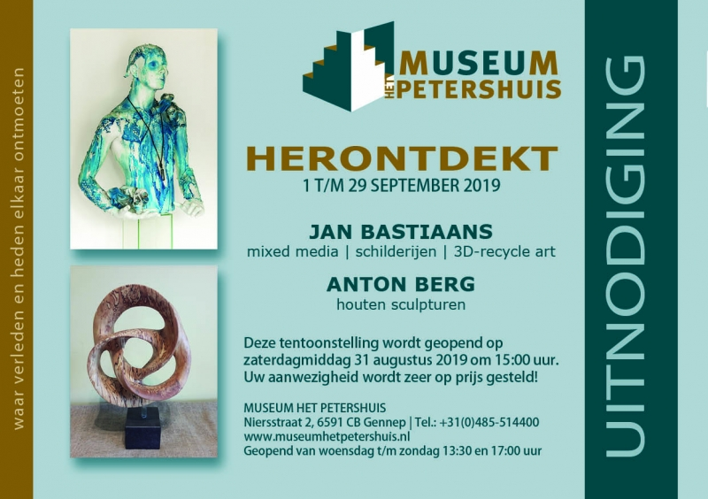 Jan Bastiaans exposeert in Gennep