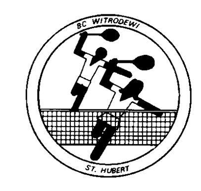 Badminton, ook in Sint Hubert