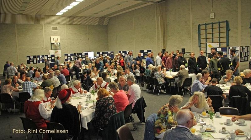 Dorpsbrunch Sint Hubert groot succes