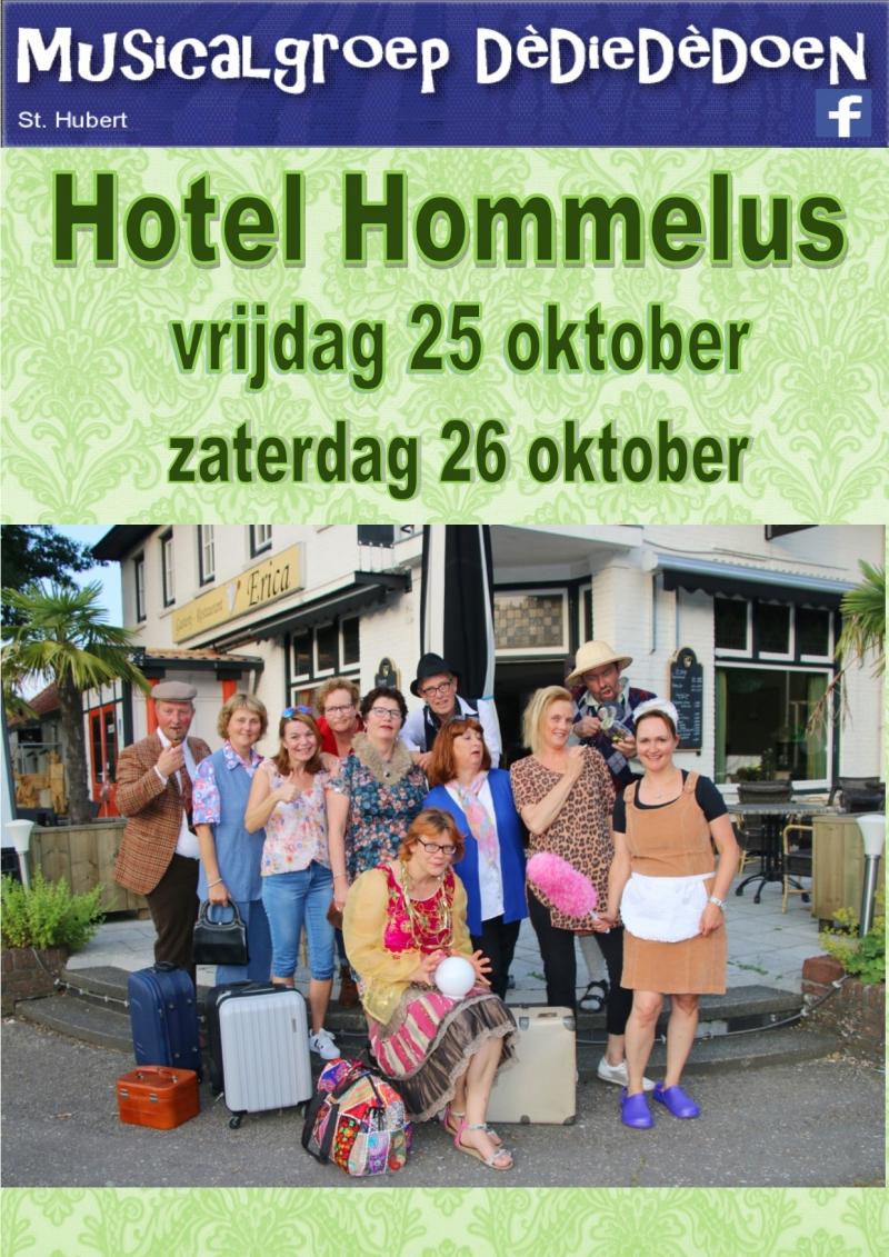 Sluiting dreigt voor Hotel Hommelus