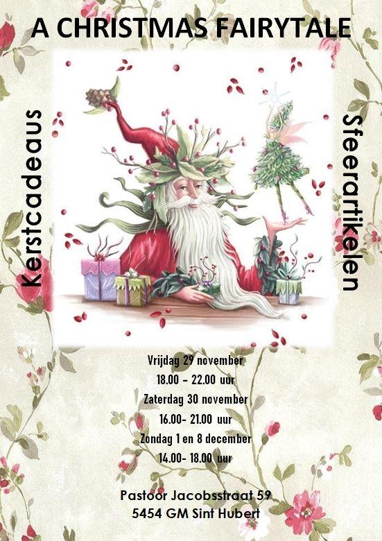 "Kerstshow ""a Christmas Fairytale"" Sint Hubert"