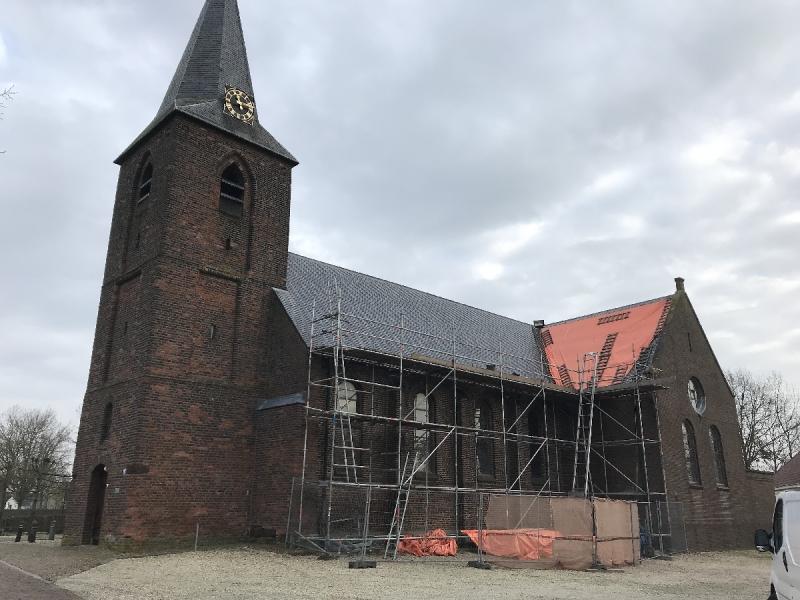Renovatie van onze Kerk