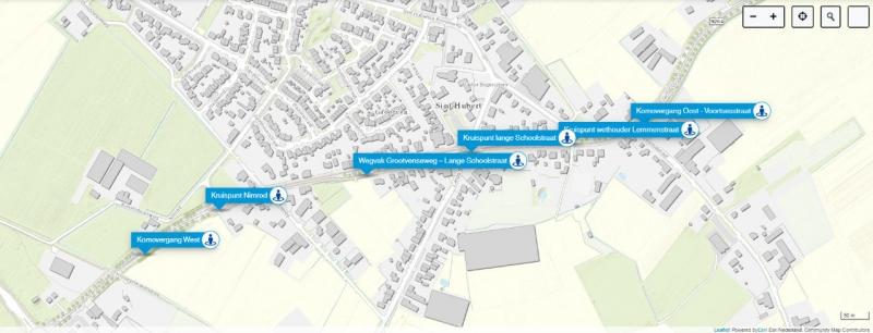 Denk online mee over de herinrichting N264 Sint Hubert