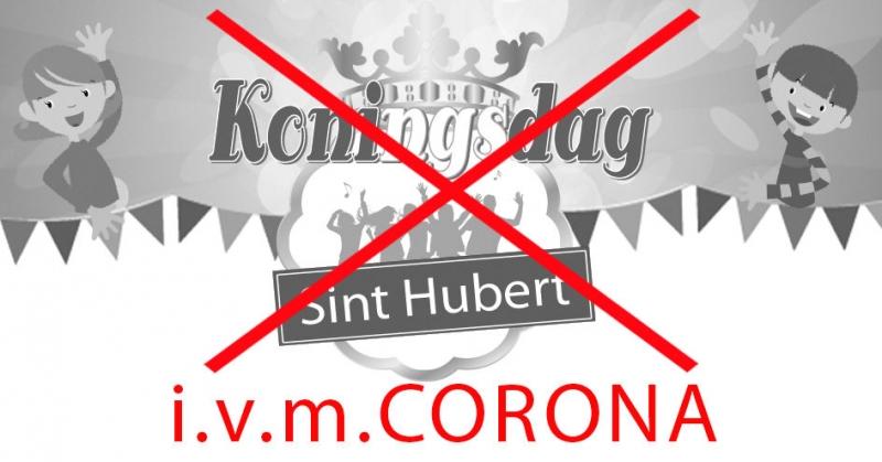Geen Koningsdag in Sint Hubert