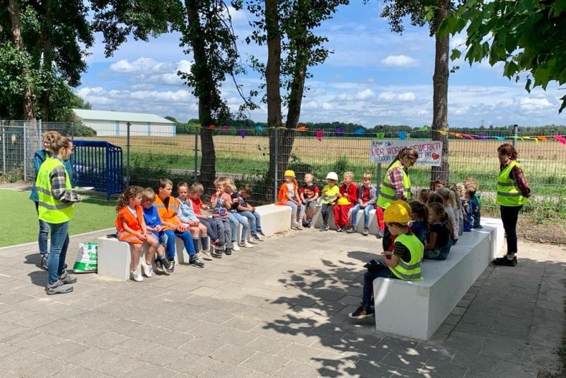 Leerlingen Basisschool De Schare Sint Hubert krijgen nu ook buiten les