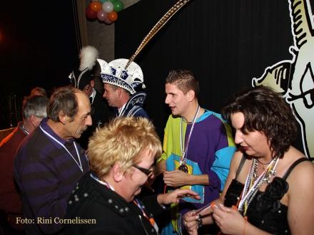 Drukbezochte Prinsenreceptie CV de Bokken Sint Hubert
